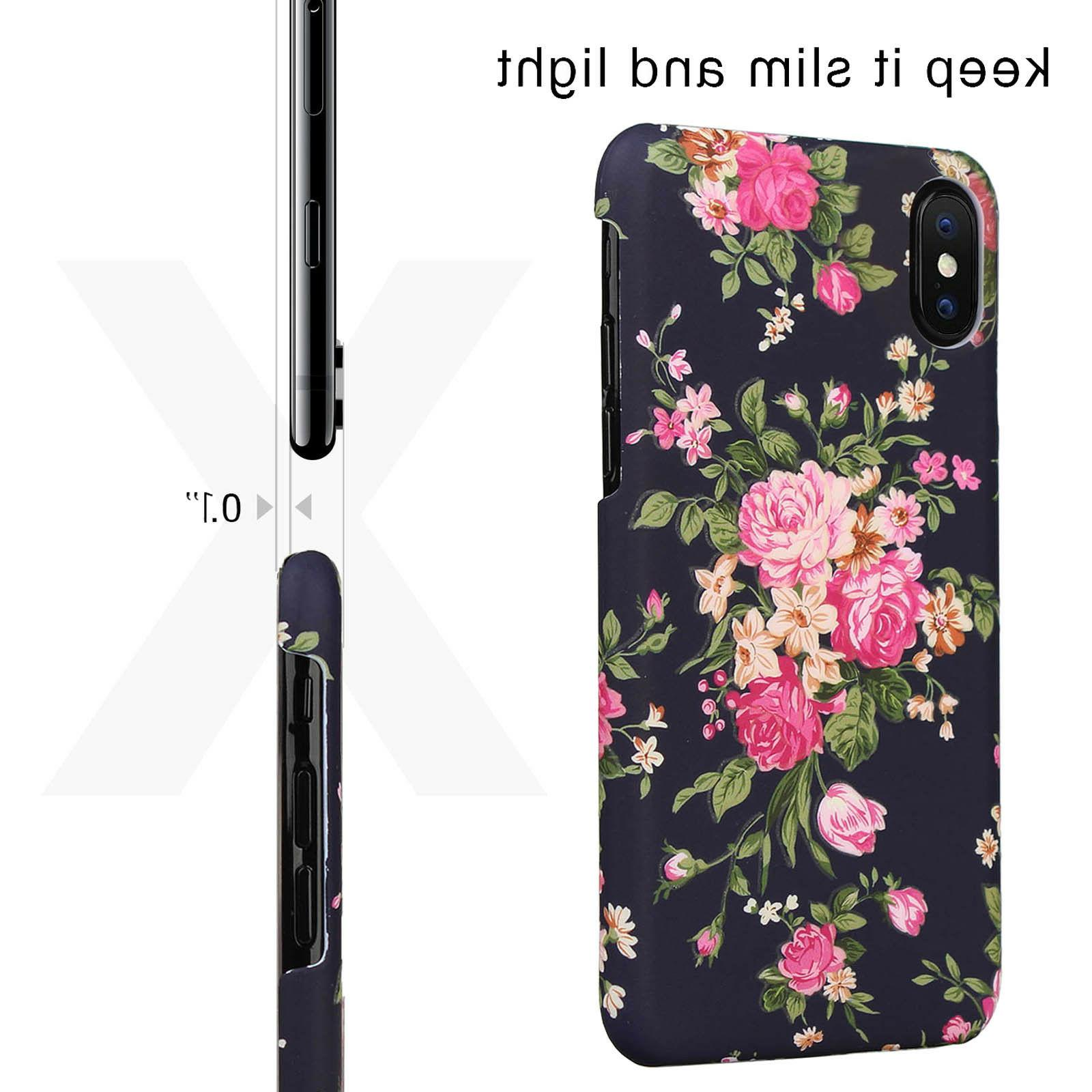 For 8 Plus Cute Case for Girls Flexible Soft