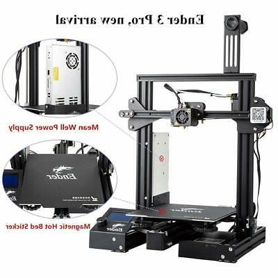 Comgrow  3D Printer with Removable Build Surface Plate and U