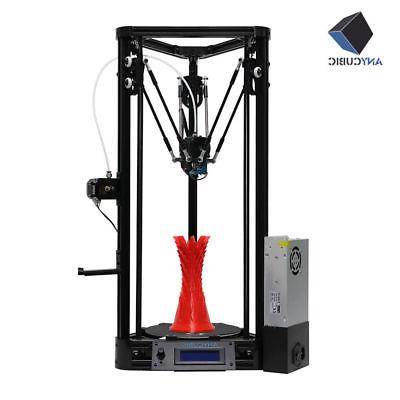 ANYCUBIC 3D Printers Kit Kossel/i3 Size High Precision