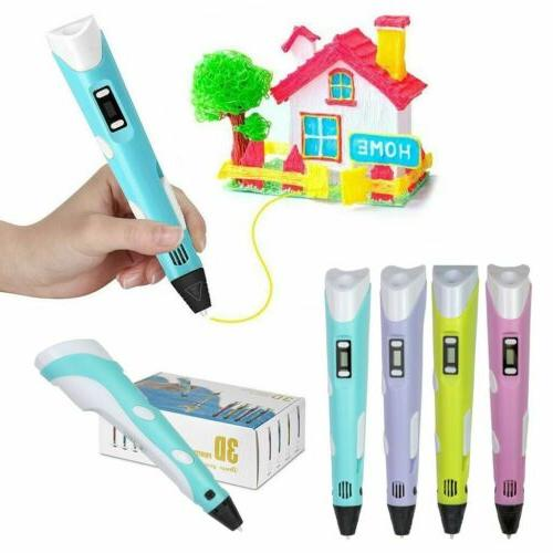 For Kids 3D Printing Pen Crafting Doodle Arts Toy