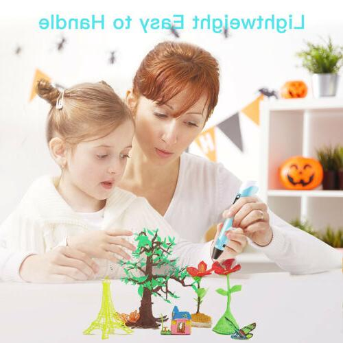 3D Printing Pen Display Chirldren Art Crafts Tool