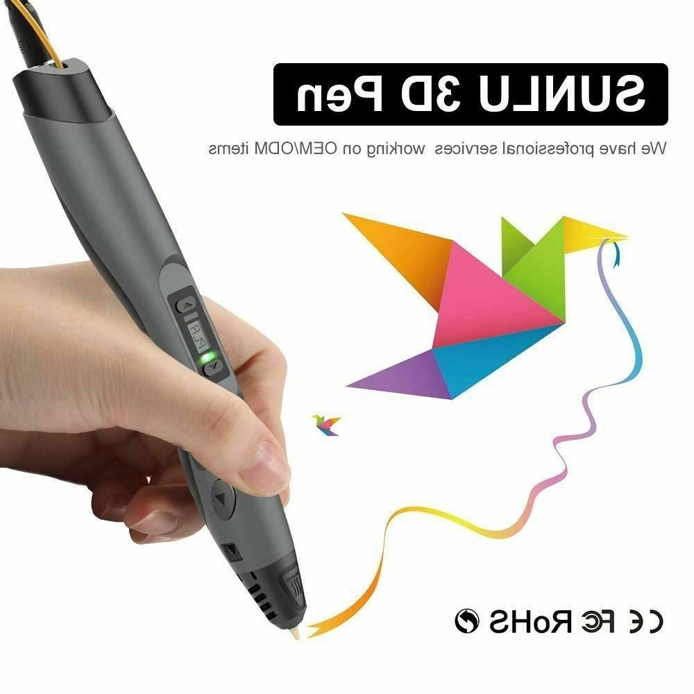 SUNLU PLA With Screen Speed Mutiple Color New