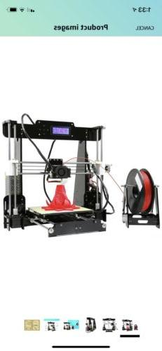Anet A8 3D Printer 220*220*240mm Desktop DIY Kits with 10M P