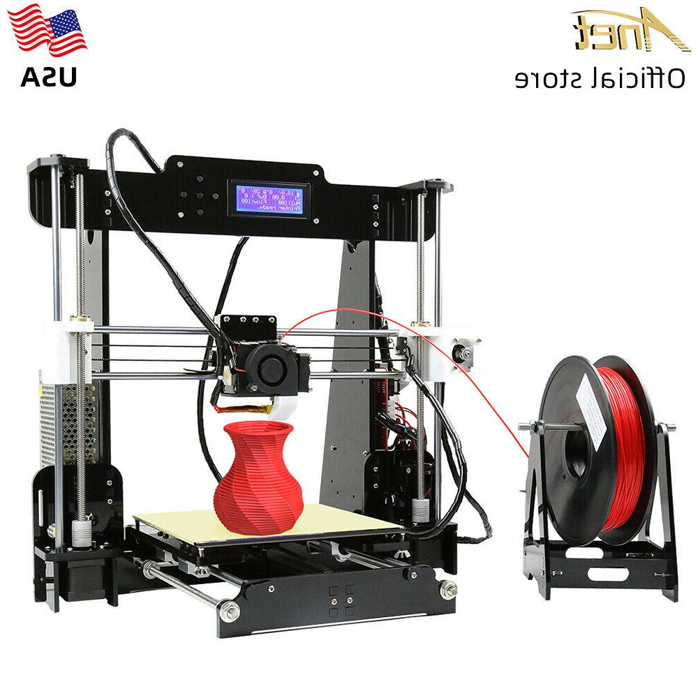 a8 3d printer 220 220 240mm desktop