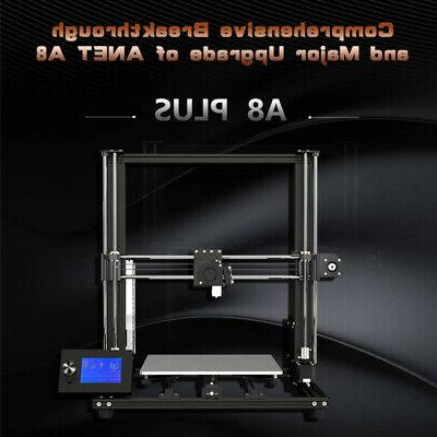 Anet A8 Printer 30*30*35cm Moveable LCD DIY