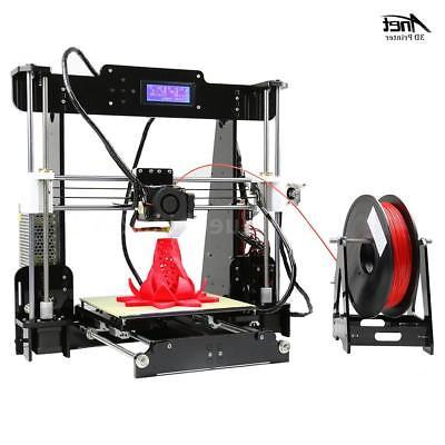 Anet A8 Upgraded Auto Level 3D DIY Kit+Filament+8G SD Card Print