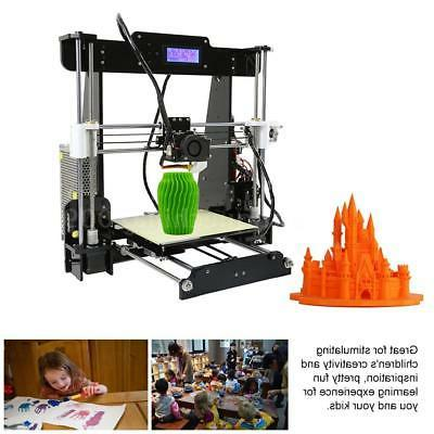 Anet A8 Upgraded Auto Level 3D Kit+Filament+8G Print