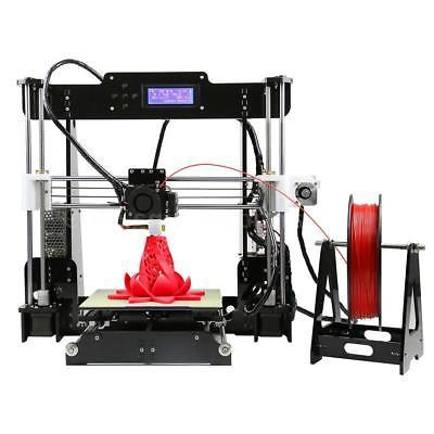 Anet Upgraded Level 3D Printer Kit+Filament+8G Card Print