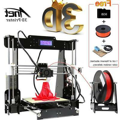 a8 upgraded auto level 3d printer diy