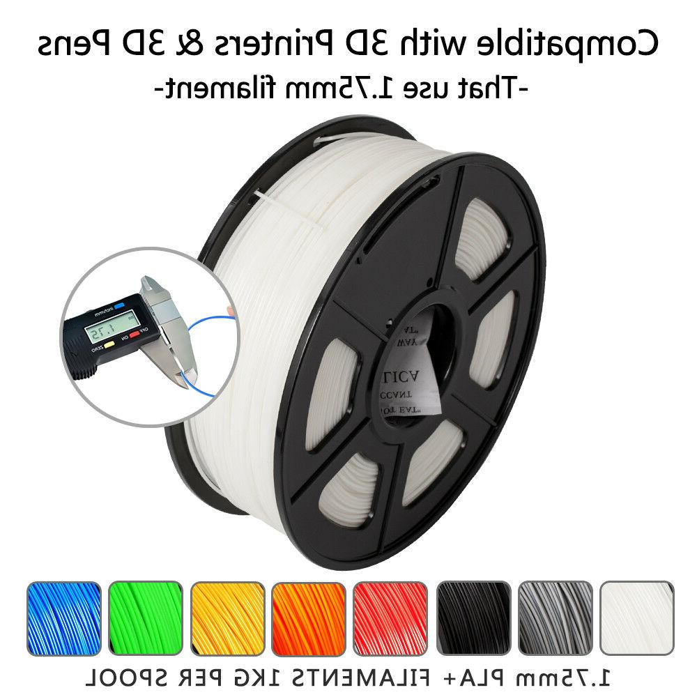 SUNLU ABS Filaments 1.75mm 2.2LBS/1KG with Spool Filament
