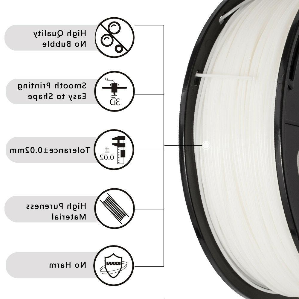 SUNLU 3D Filaments 1.75mm 2.2LBS/1KG with Spool