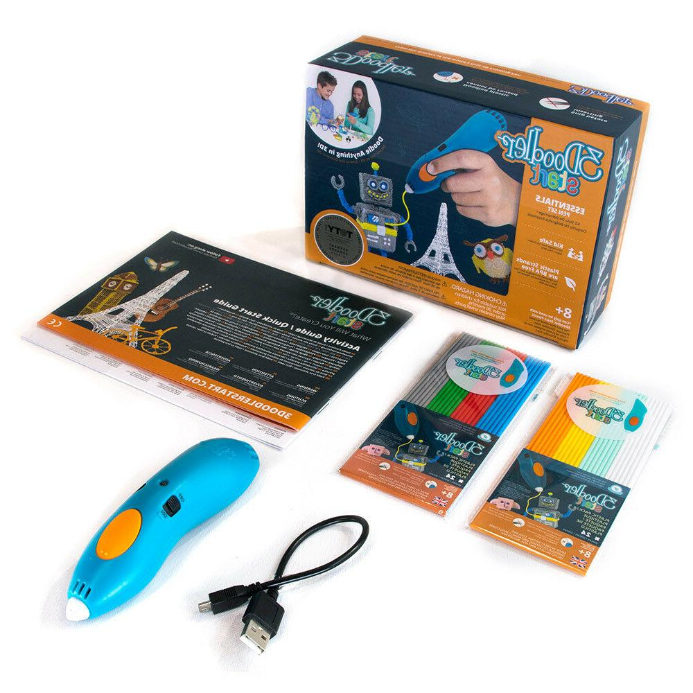 3Doodler Start Rocket & Robot DoodleBlock Kit