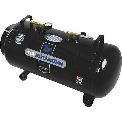 airhoss 20 gallon small vertical and horizontal