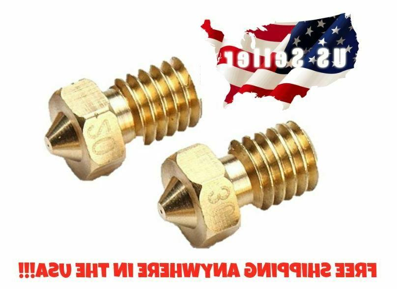 brass extruder nozzle for pro 3d printer