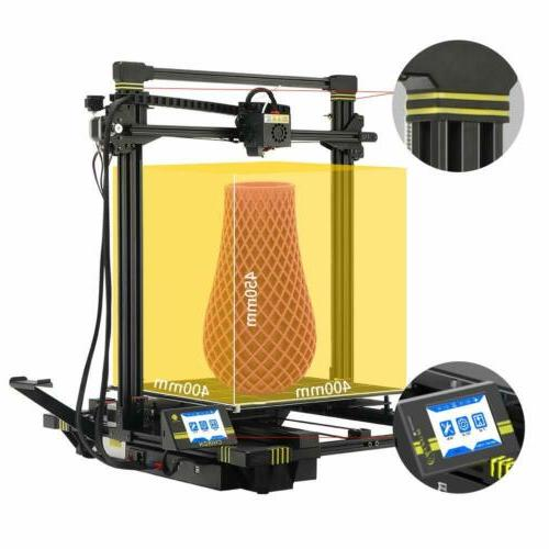 US ANYCUBIC Chiron Auto Leveling 3D Printer with Ultrabase Heatbed