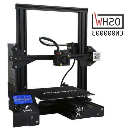 Comgrow 3X Printer with Tempered Glass