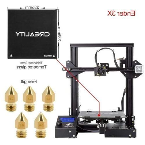 Comgrow Creality 3D 3X with Glass Plate Ender-3X