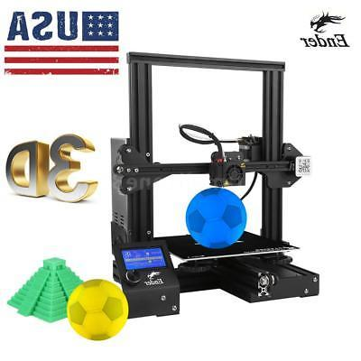 creality ender 3 diy 3d printer upgraded