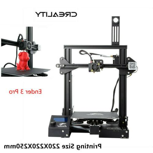 Newest Creality Ender 3 Pro 3D Printer 220X220X250mm Mean We