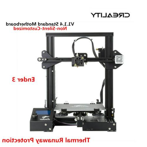 Newest Creality Ender 3 3D Printer 220X220X250mm DC 24V US S