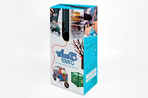 3Doodler With Plastic Strands, No Non-Toxic, Smoky Blue