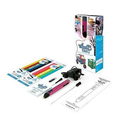 3Doodler 3D Pen With 50 Plastic Strands Shocking