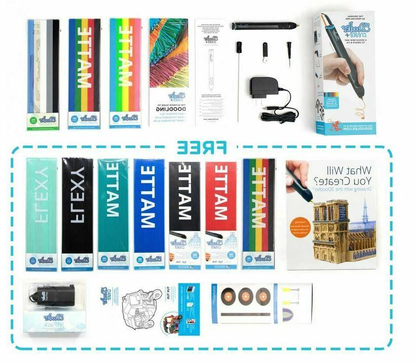 create limited edition bundle 3d drawing pen