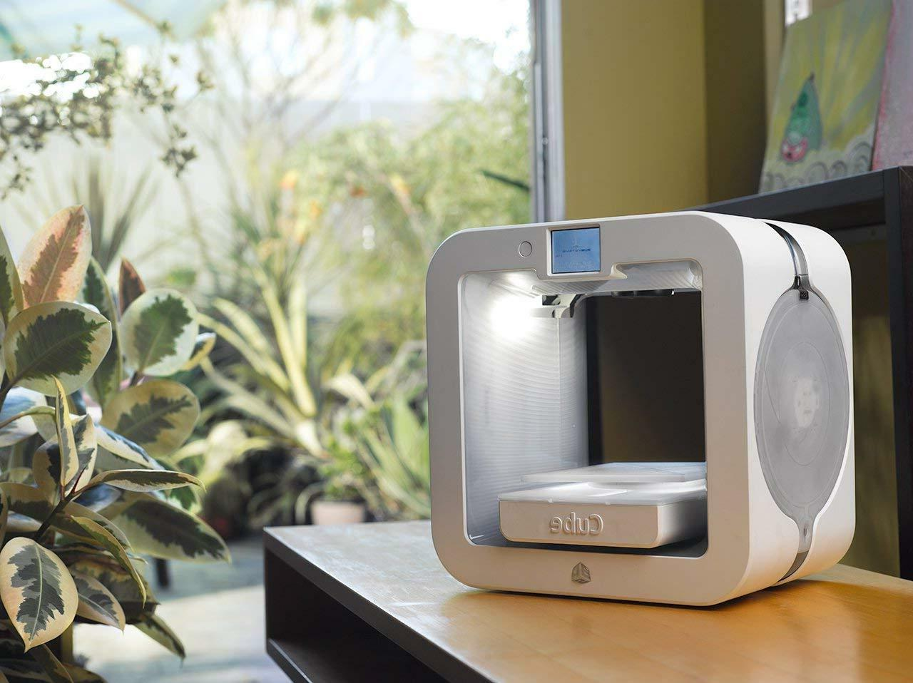 CUBE 3D Systems Printer, White New