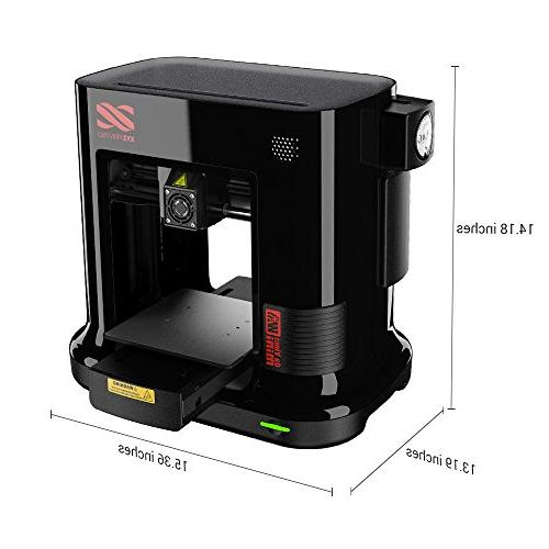 "da Mini 3D Printer-6""x6""x6"" Volume to PLA"