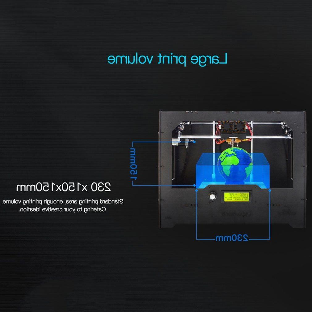 Geeetech 3D Dual Extruder color