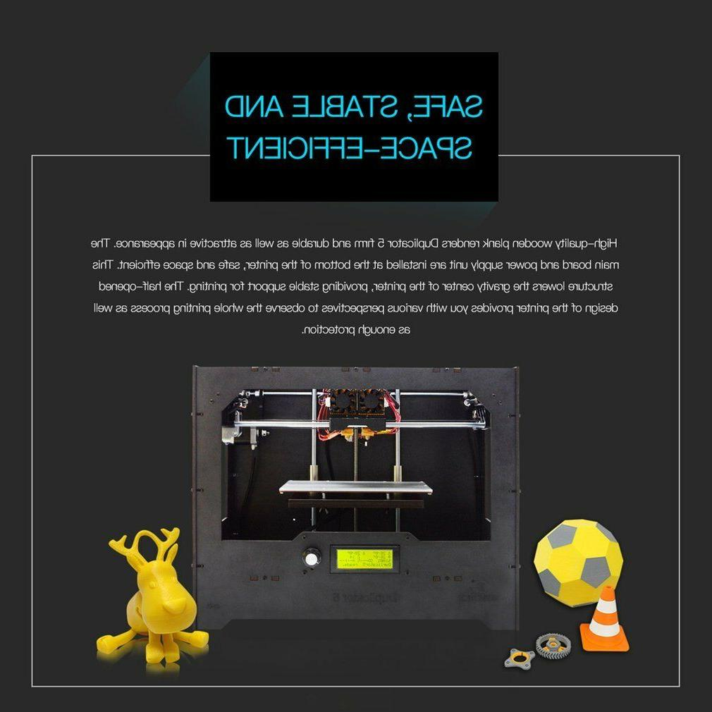 Geeetech Duplicator5 Upgraded 3D Dual Extruder multi color