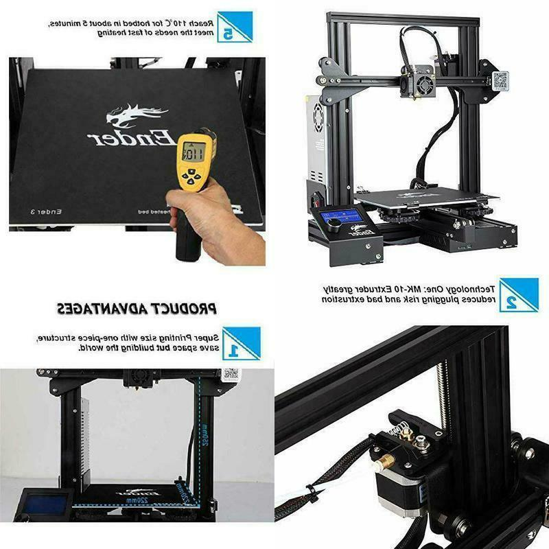 ender 3x creality 3d printer upgraded version