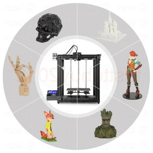 ender 5 pro fdm 3d printer 220x220x300mm
