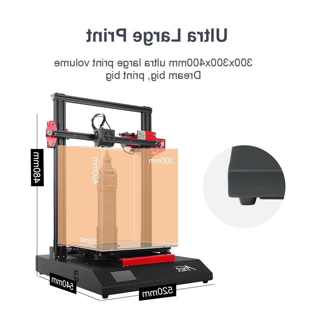 Anet ET5 Printer 300*300*400 Filament Resume