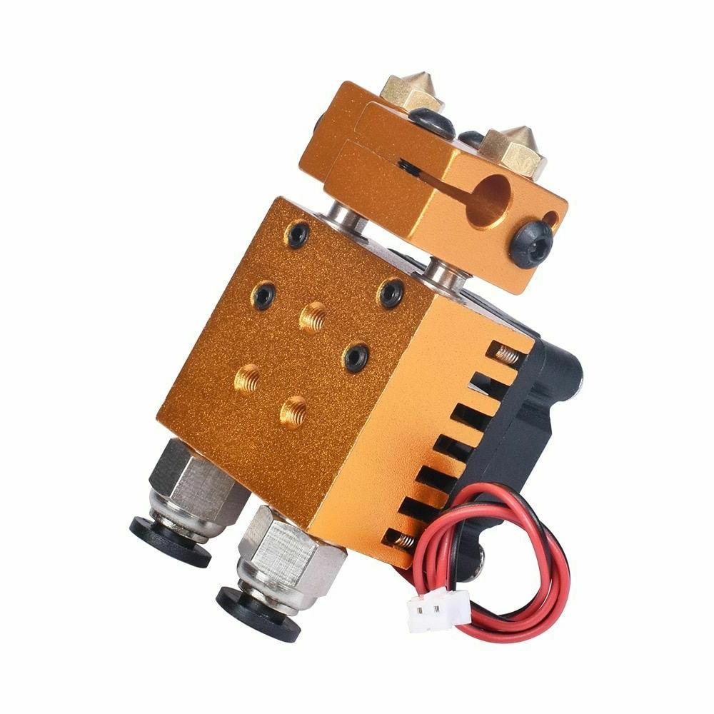 Extruder V6 Double Head Print Hotend Kit 3D Accessories