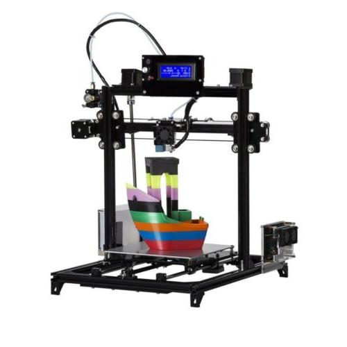 Factory Supply New FLSUN Prusa i3 3d Printer Diy Auto-leveling System Filament