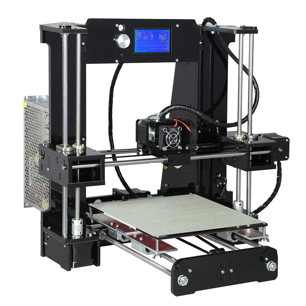 <font><b>Anet</b></font> <font><b>Printer</b></font> <font><b>3D</b></font> LCD Screen Hotbed Extruder <font><b>Printers</b></font> Kit
