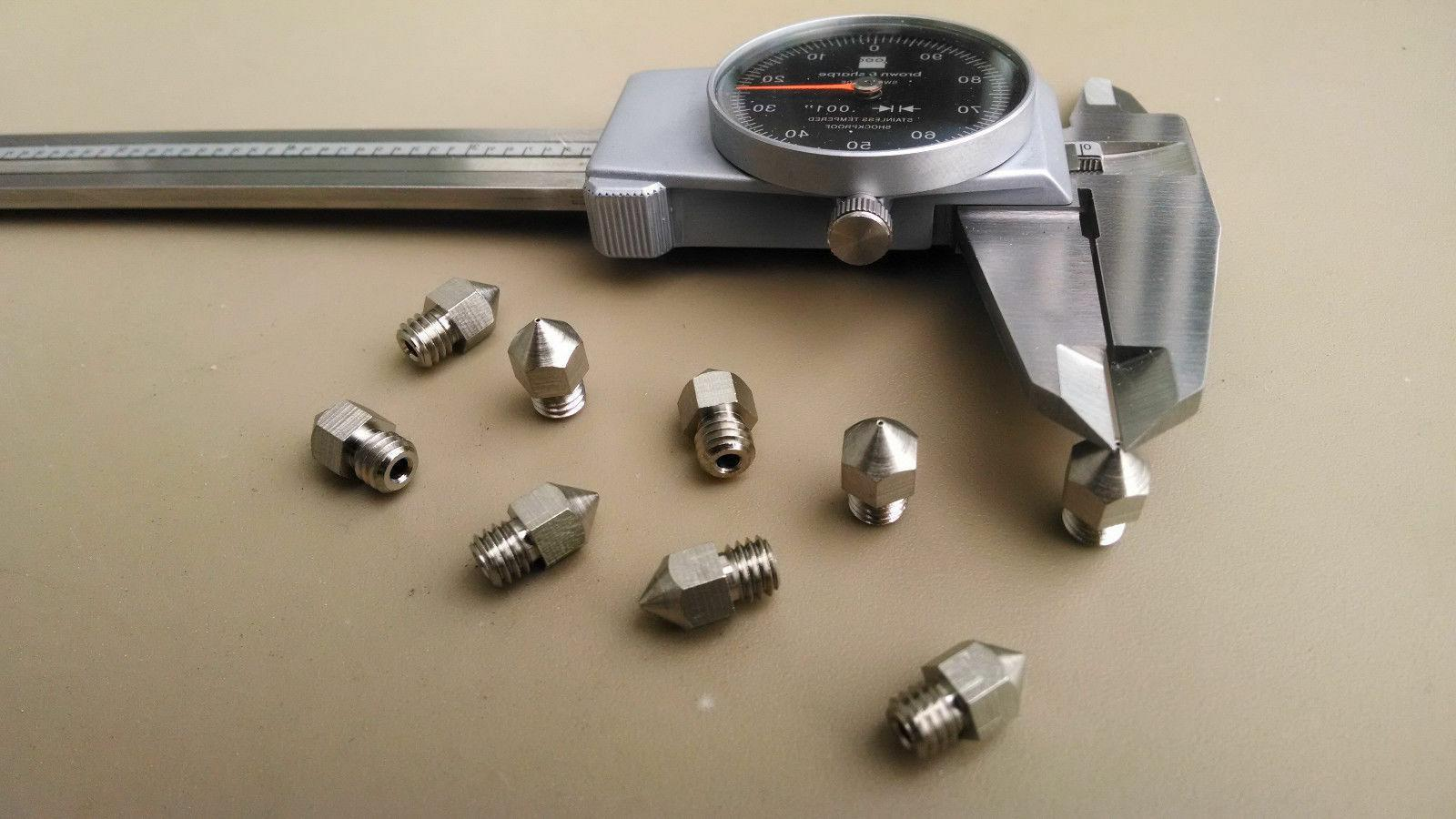 High Extruder Nozzles Low Friction