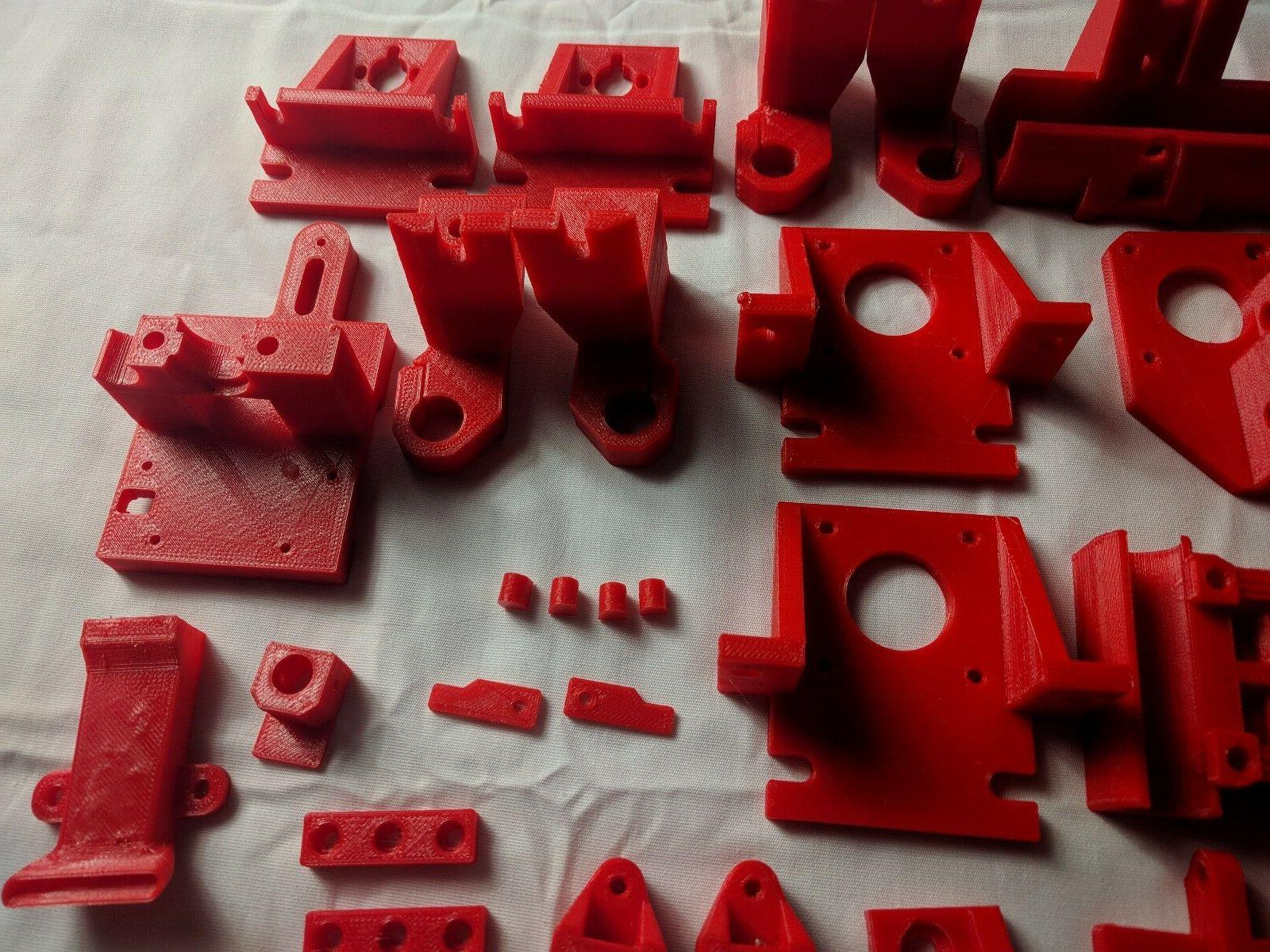 HyperCube Parts Kit to Red Clear