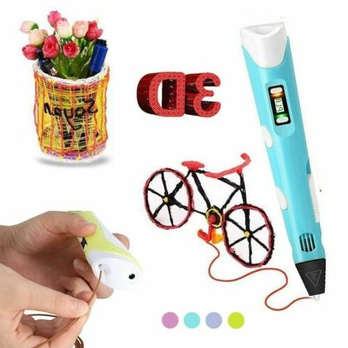 For Kids 3D Pen Drawing Arts Printer ABS Toy