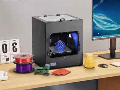 Monoprice 3D Printer With Bed Leveling, Plate