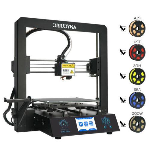 ANYCUBIC Mega-S FDM Printer Kit Frame Ultrabase PLA