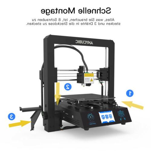 ANYCUBIC Mega-S 3D Printer Frame High Precision PLA