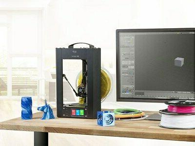 Monoprice Delta 3D Printer Fully Heated Plate Micro SD
