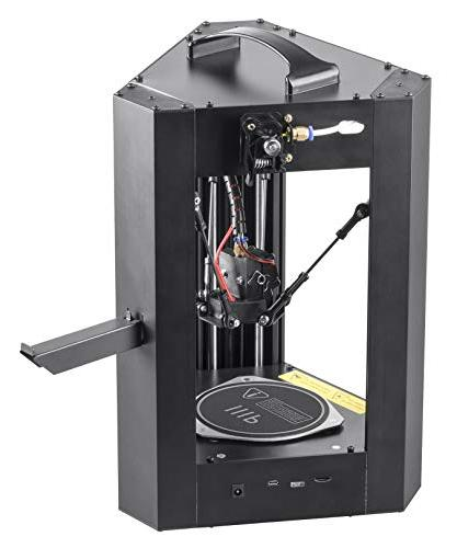 Monoprice Mini Delta Printer With Plate, Auto Calibration, Assembled ABS PLA + Card With Printable 3D Models