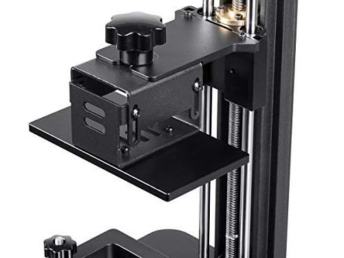 Monoprice Mini Deluxe Resin 3D With Build High Resolution, Touch Screen Display 250ml