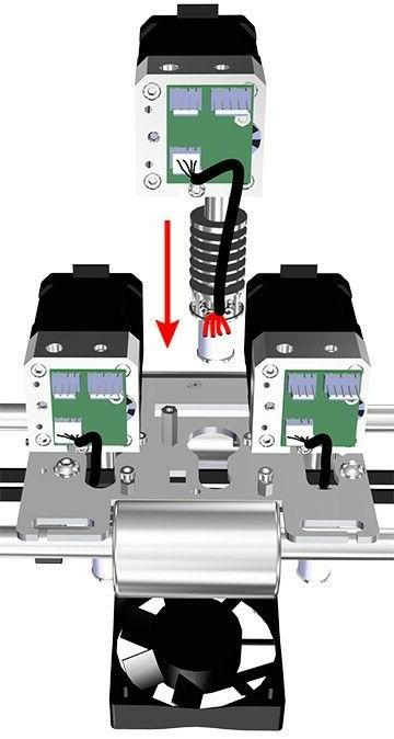 NEW 3DSystems Cube Printer Extruder Nozzle Replacement
