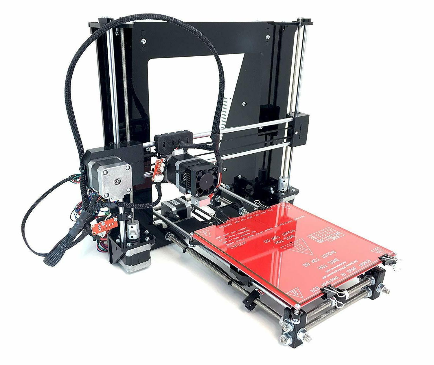 RepRap Black DIY Prusa PLA Printer Kit