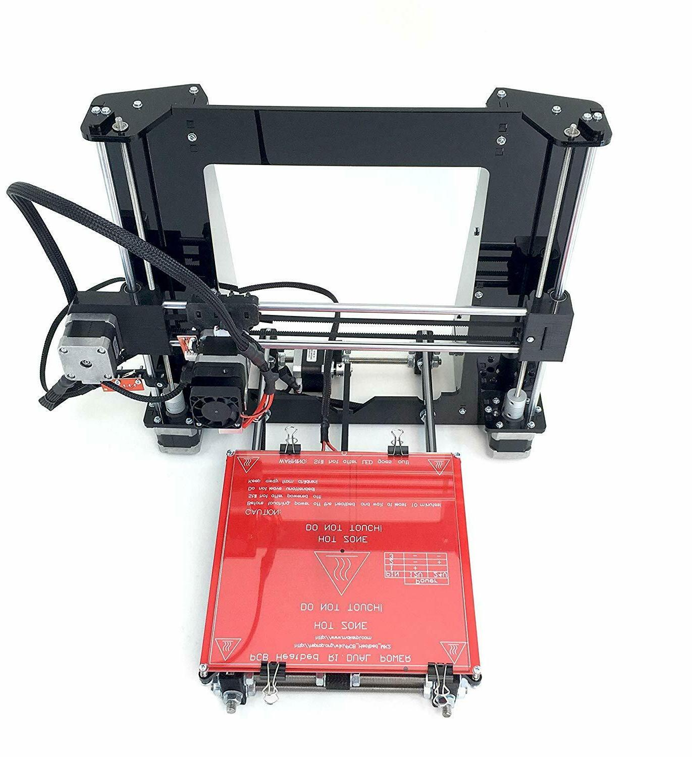 RepRap New Black DIY i3 3D PLA Printer