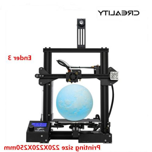 newest creality ender 3 3d printer 220x220x250mm